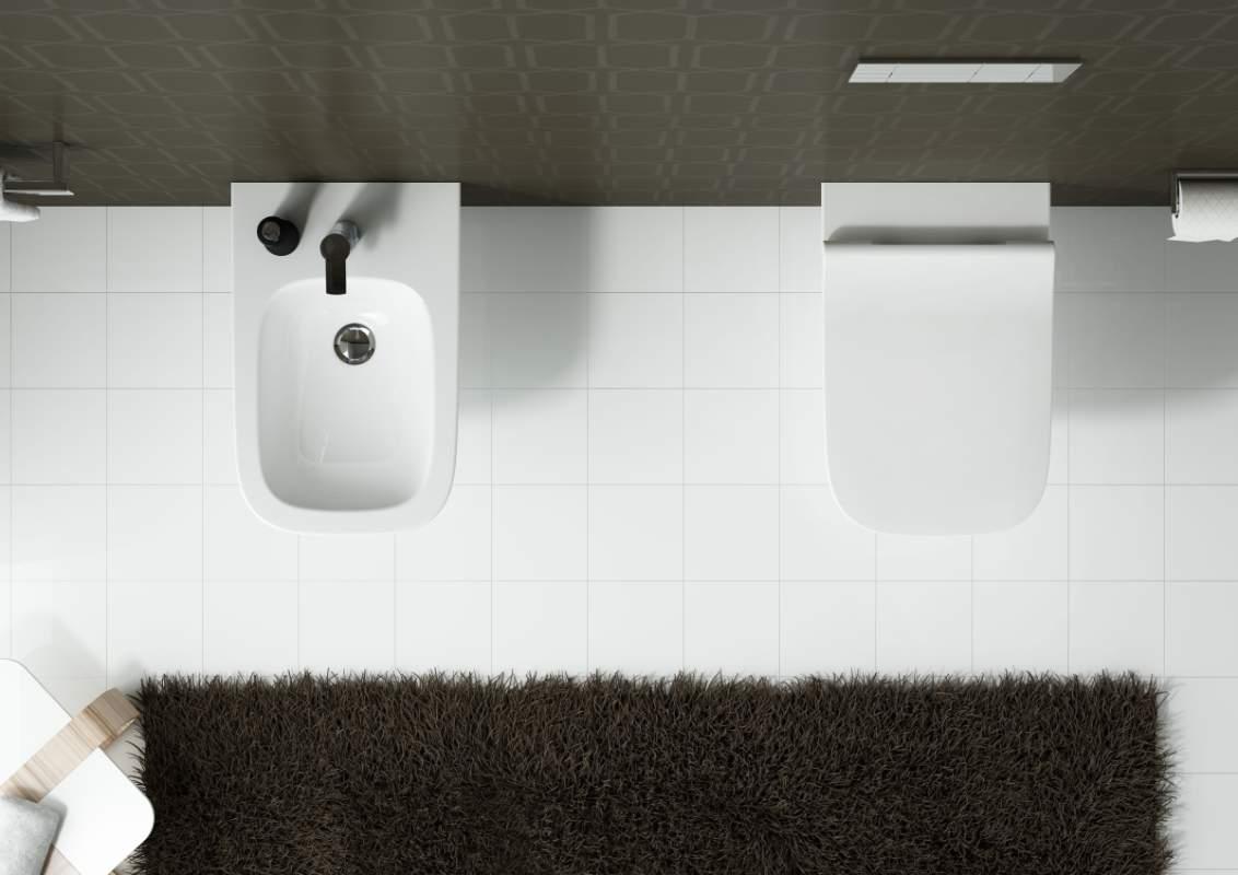 Miska WC i bidet z serii KOŁO MODO