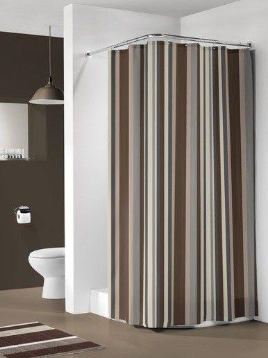 Pasy - modny wzór w łazience