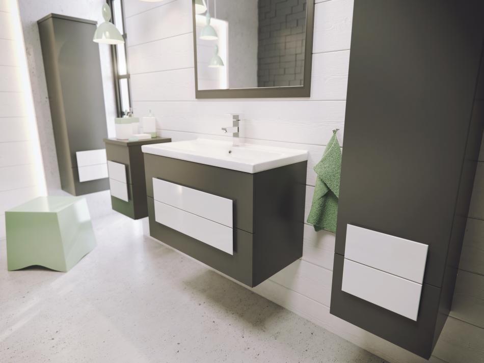 Meble łazienkowe Defra Nex - modna łazienka