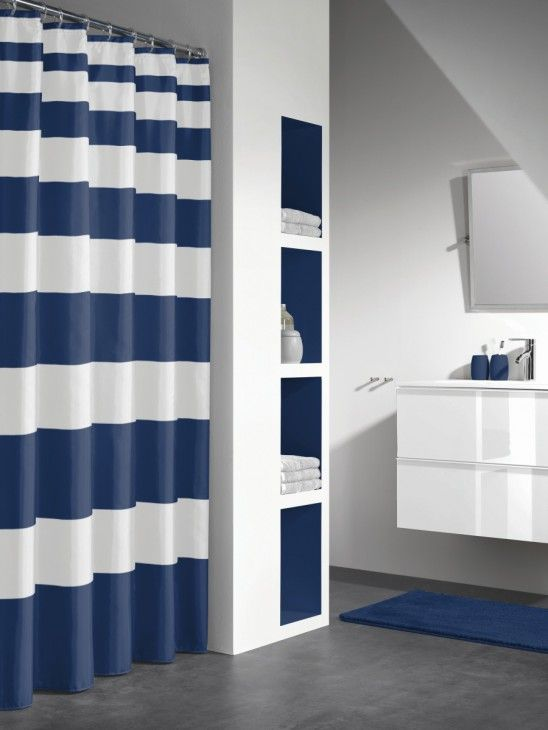 Paski - modny wzór do łazienki