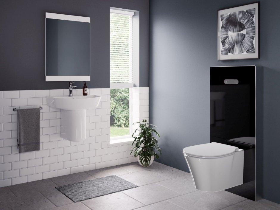Moduł sanitarny do zawieszenia miski WC