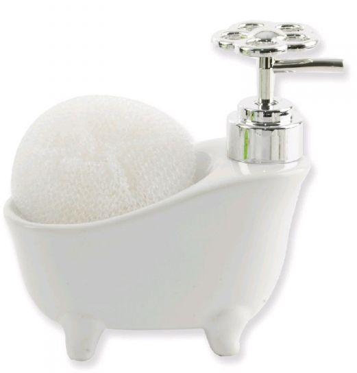 Mydelniczka w łazience - model retro