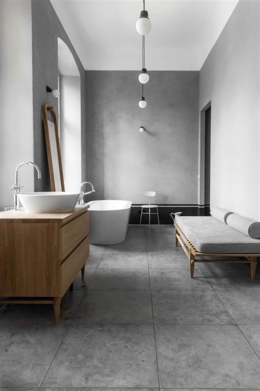 Kanapa w łazience