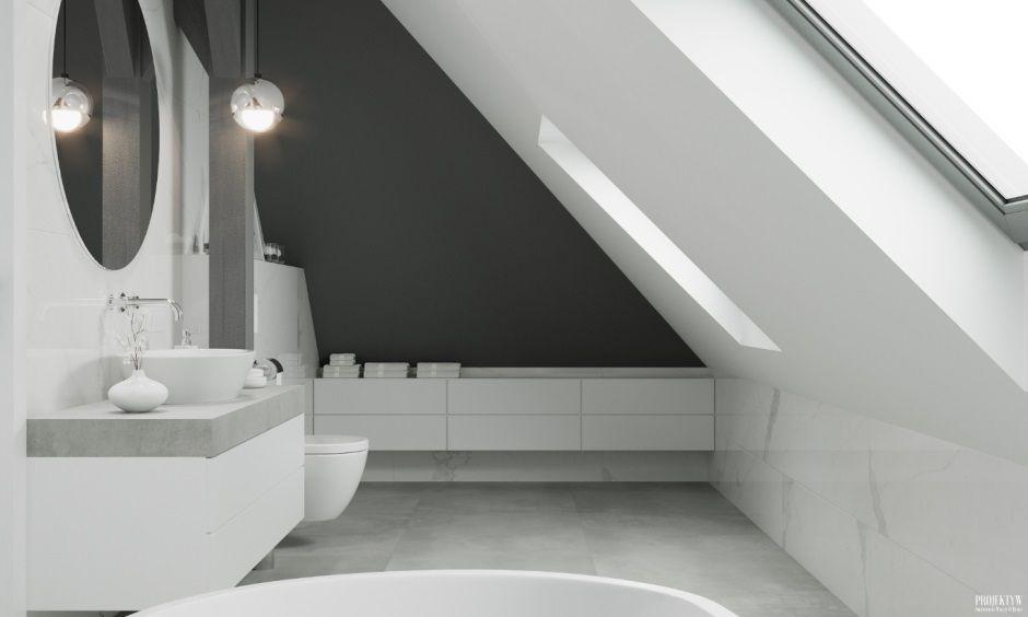 Niskie szafki do małej łazienki