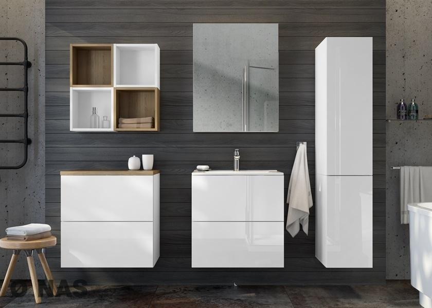 TORINO - propozycja aranżacji łazienki w rozmiarze M