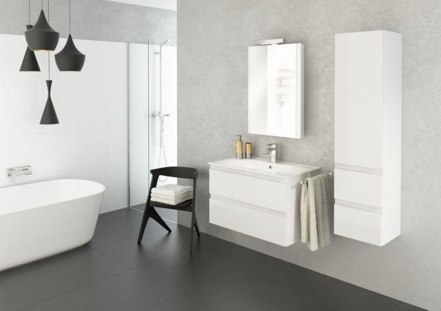 Nowoczesne rozwiązania - minimalistyczne meble łazienkowe