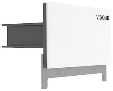 Elements - odpływ ścienny Vigour Individual biały
