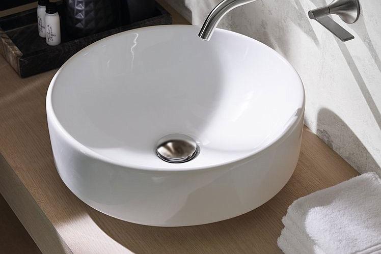 okrągła umywalka nablatowa VariForm - KOŁO