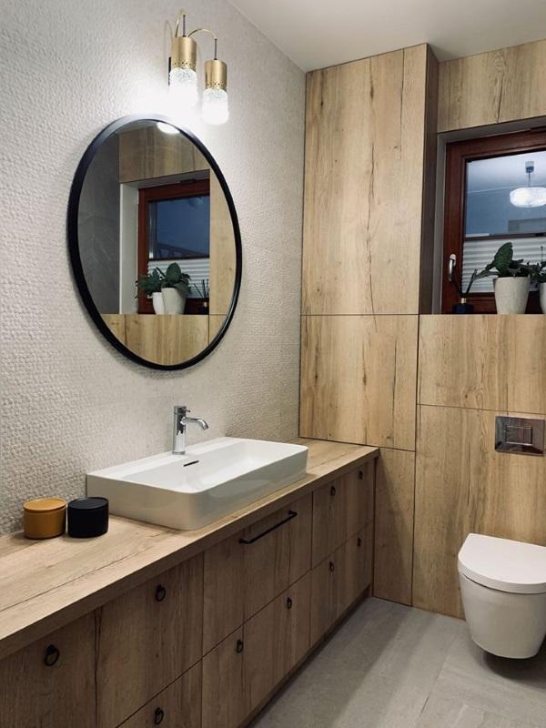 lustro w łazience - Scandi Gieradesign