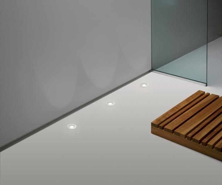 Oprawa podłogowa LED w łazience Terra Aurora Technika Świetlna