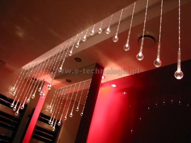 Kryształowe Kule - lampy światłowodowe
