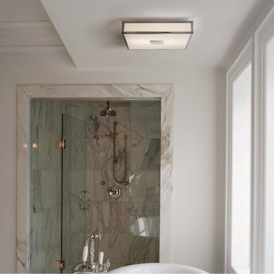 Oświetlenie w łazience - wybór opraw