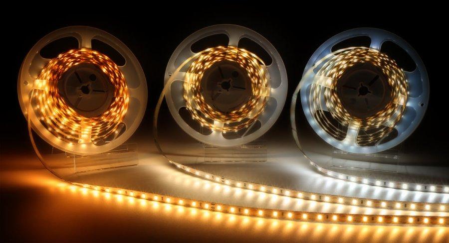 Oświetlenie łazienki taśmy led samsung LEDIN