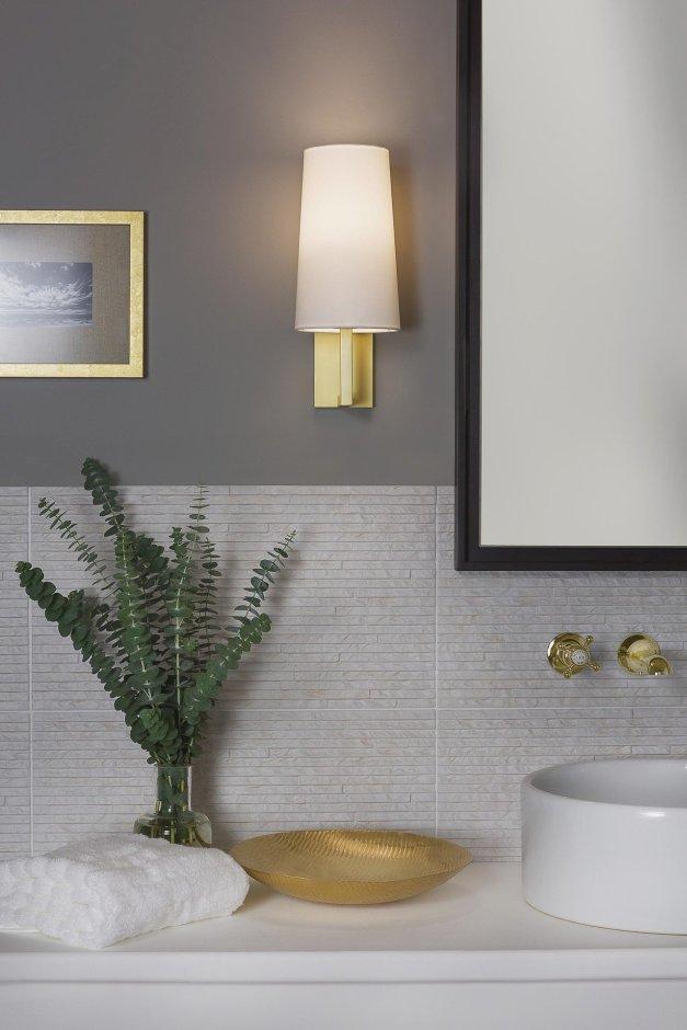 Oświetlenie łazienki Vintage