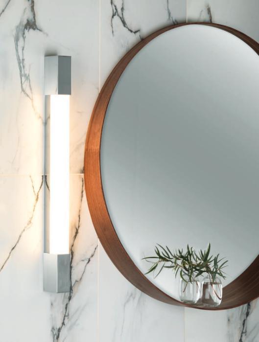 Oświetlenie led w łazience kinkiet  Romano Aurora Technika Świetlna
