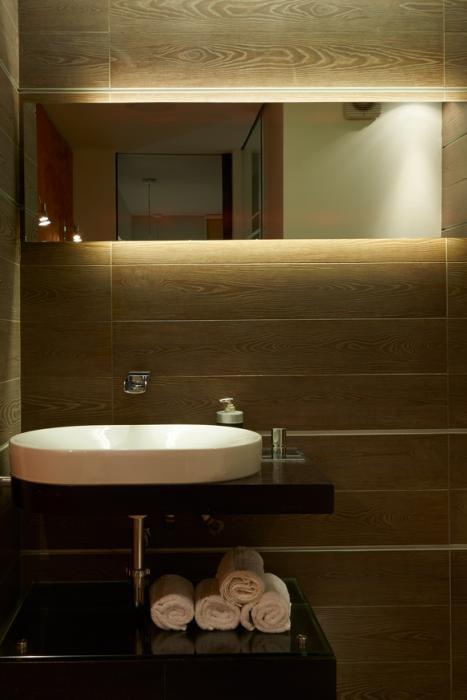 Oświetlenie LED w łazience taśmy led GTV