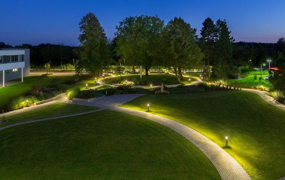Oświetlenie Ogrodu Instalacja Lampy Technologie