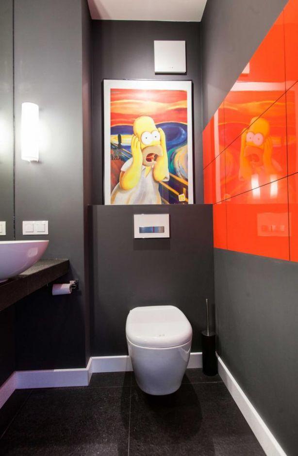 Aranżacja łazienki ze śmiesznymi akcentami