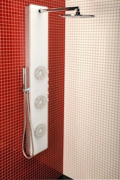 Nowoczesny panel prysznicowy