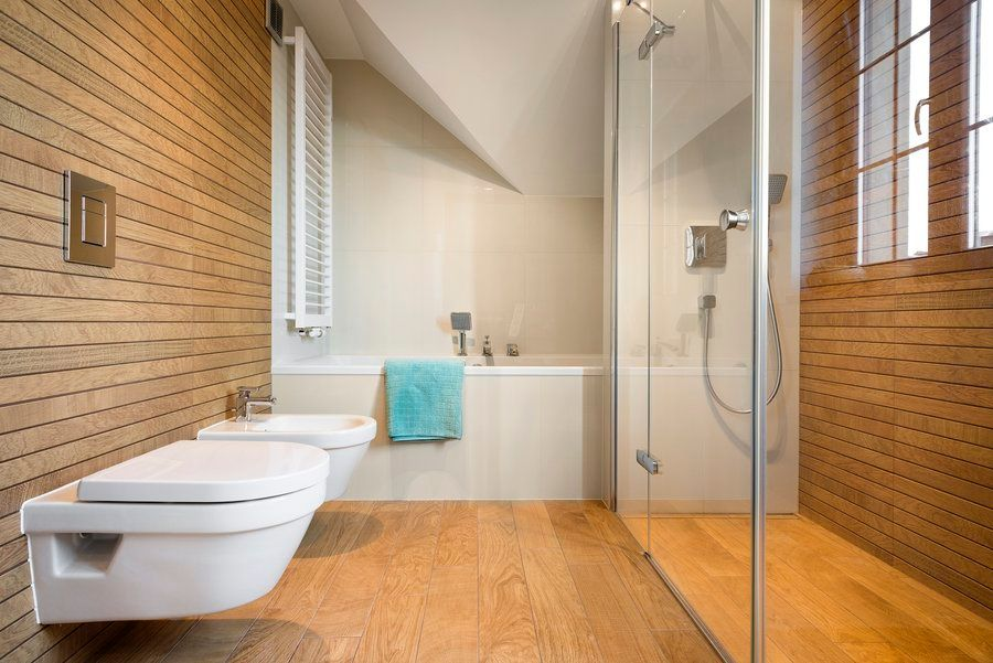 Panele ścienne W łazience Boksy Wszystko O łazienkach