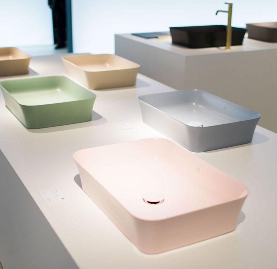 Pastelowe umywalki Ideal Standard