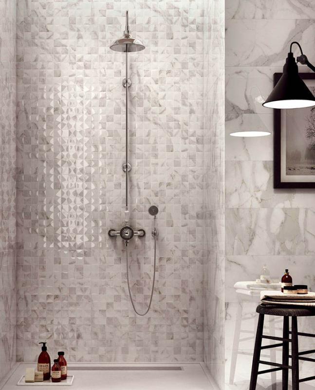 Płytki z efektem 3D - sposób na niebanalną łazienkę - płytki ceramiczne i terakota lazienkowy.pl