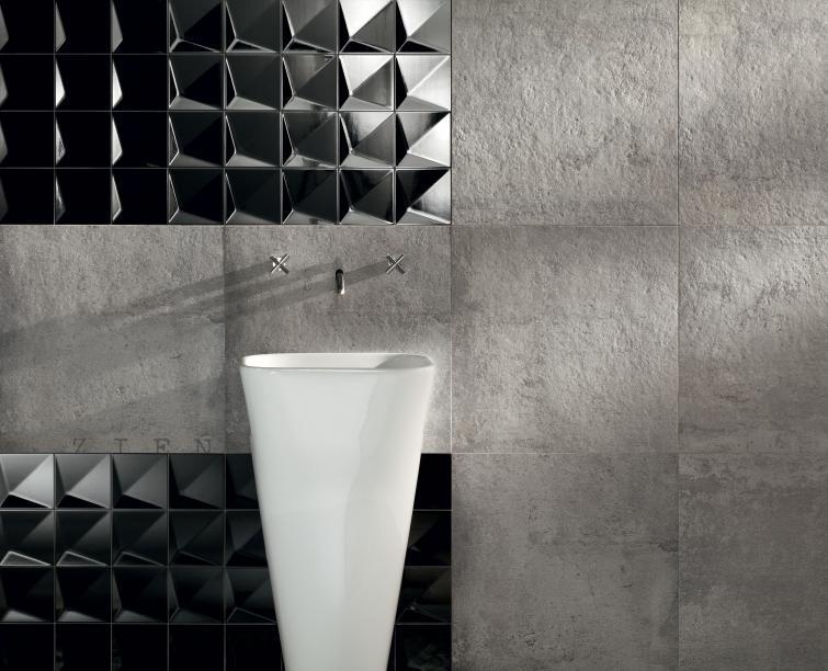 Płytki ceramiczne 3D kolekcja Berlin Tegel Tubądzin Salonika