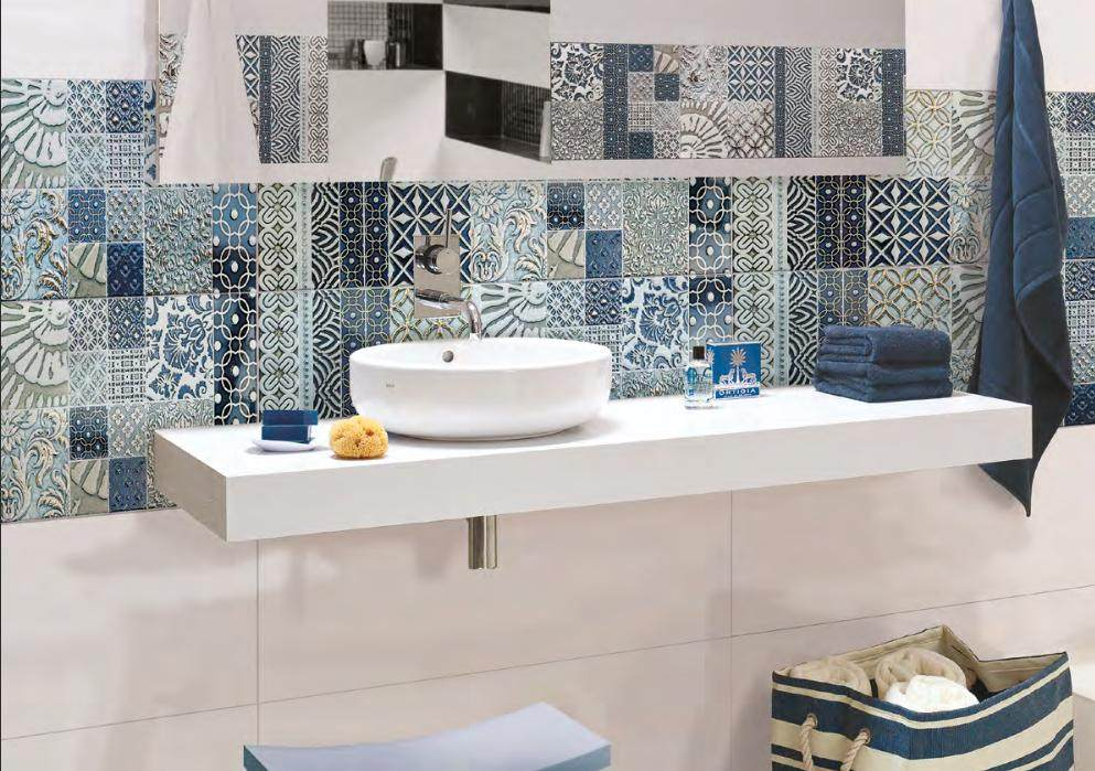 Płytki ceramiczne patchwork Opp Ceramstic Royal Blue Salonika
