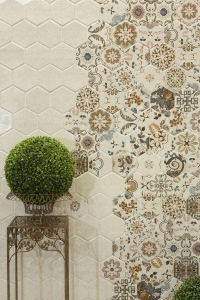 Płytki Heksagonalne W łazience Płytki Ceramiczne I