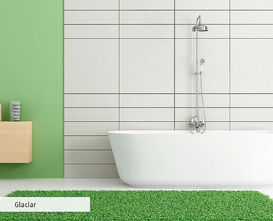 Gres na ścianach w łazience