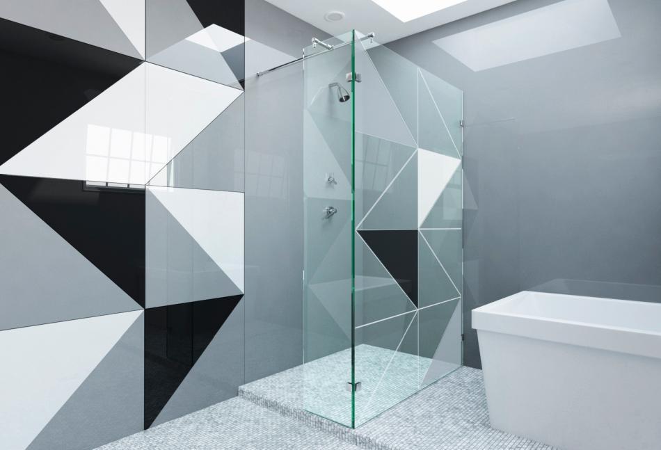 Colorimo Forma Szklane Płytki Podłogi I ściany