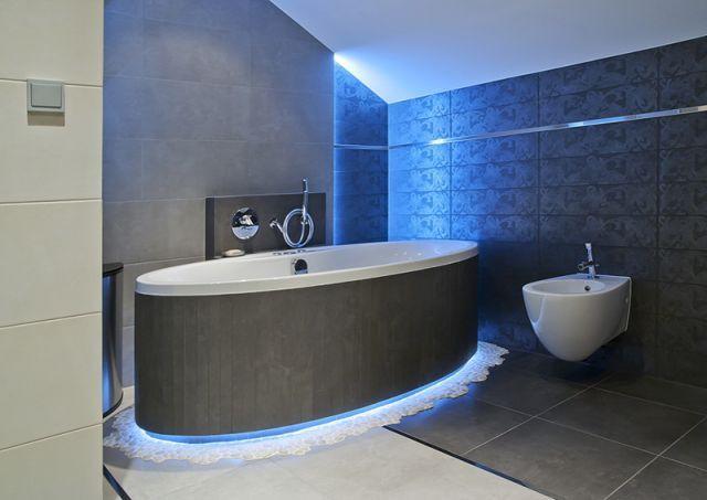 Podświetlana Podłoga W łazience Meble I Akcesoria Wszystko