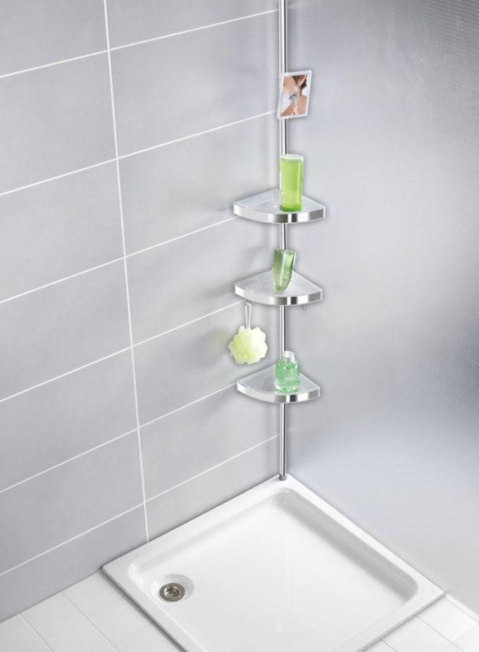 Akcesoria łazienkowe - półka pod prysznic