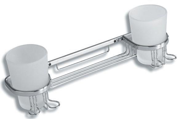 Ferro - Półka pod prysznic na kubki i przybory toaletowe Ferro Novattorre
