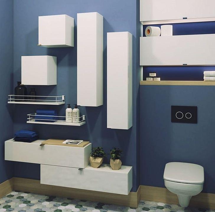 Półki Do łazienki Ciekawe Rozwiązania Meble I Akcesoria