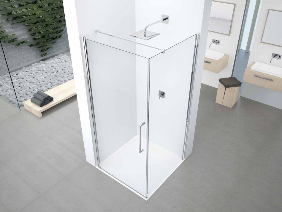 Novellini Crystal Clean - powłoka ochronna w kabinach prysznicowych