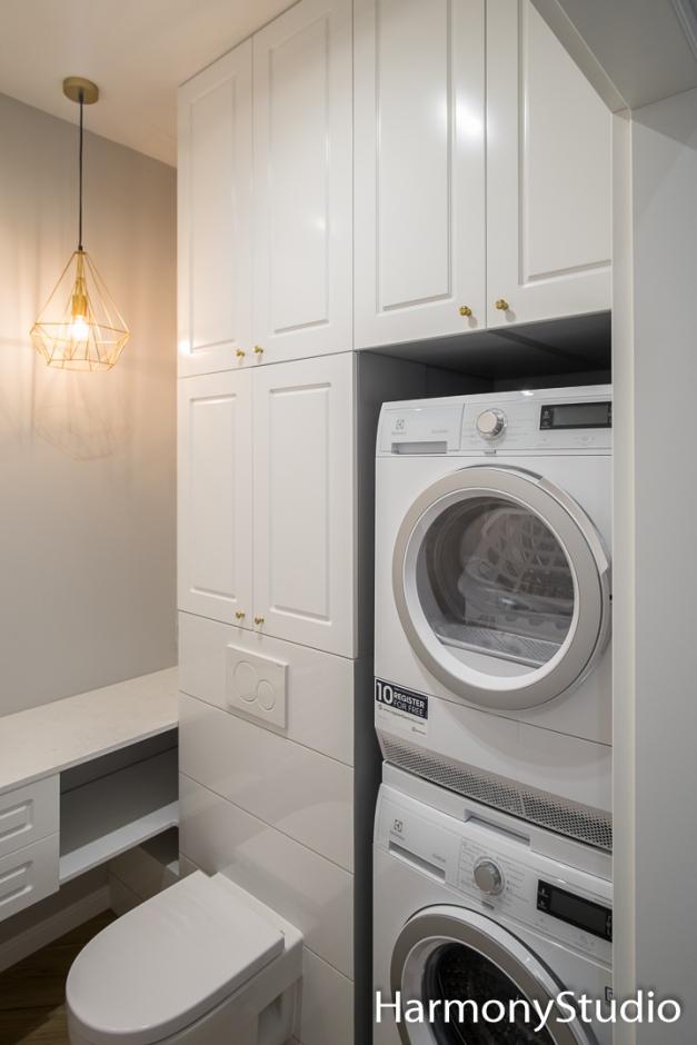 Zabudowa pralki w łazience