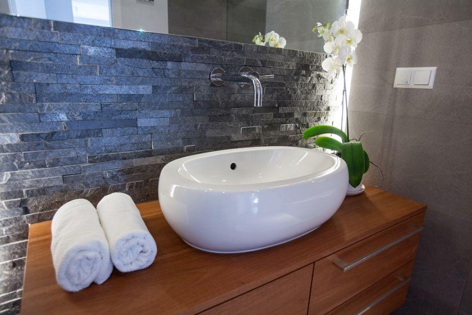 Prawidziwy kamień w łazience
