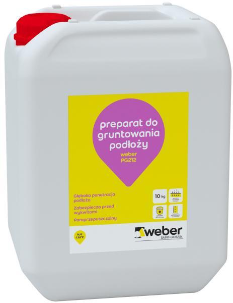 Weber PG212 - preparat do gruntowania podłoży