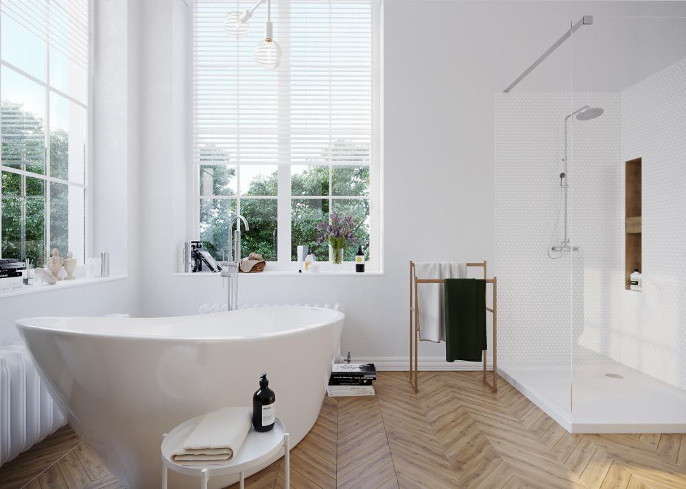 łazienka dla pary, która znów ma łazienkę tylko dla siebie...