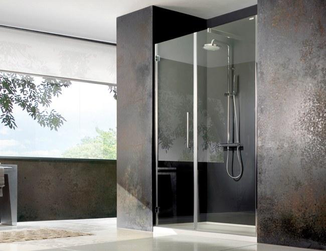Nietypowy Kształt łazienki Prysznic We Wnęce łazienkowej