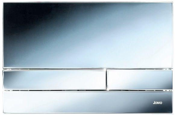 Werit - przycisk JOMO z kolekcji Exclusive 2.0 chrom/połysk