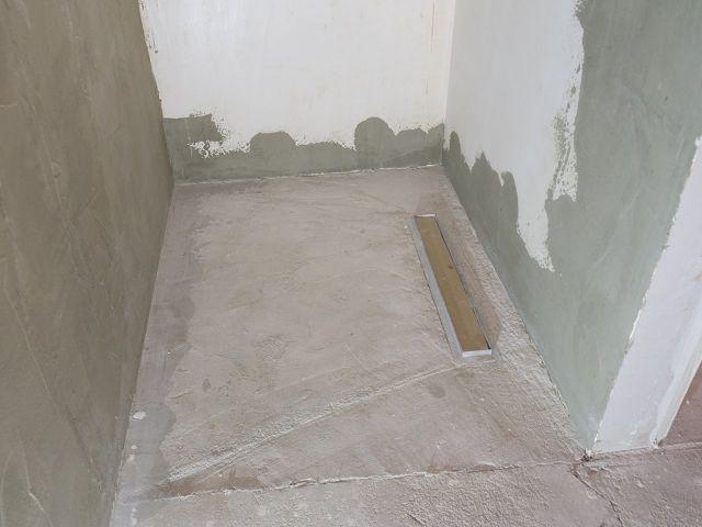Hydroizolacja łazienki w 9 krokach - przygotowanie podłoża