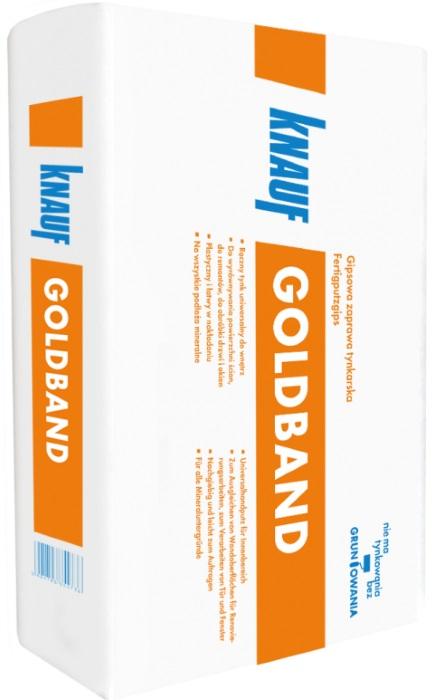 Knauf Goldband - ręczny tynk gipsowy