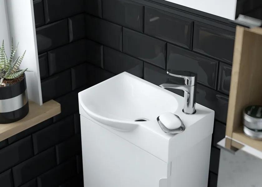 SETTO - kompaktowa szafka łazienkowa