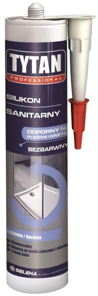 silikon sanitarny Tytan Professional