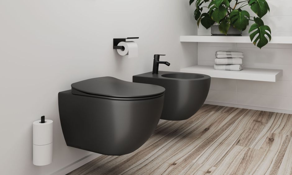 Kolorowe miski WC