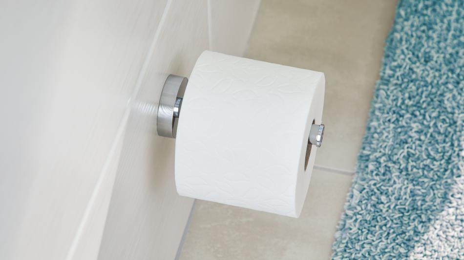 smooz tesa - Uchwyt na zapas papieru toaletowego mocowany bez wiercenia