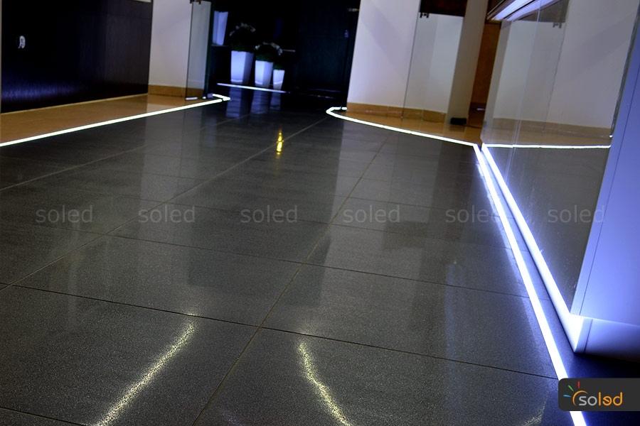 Oświetlenie Liniowe W Podłodze Ukryte Soled Wszystko