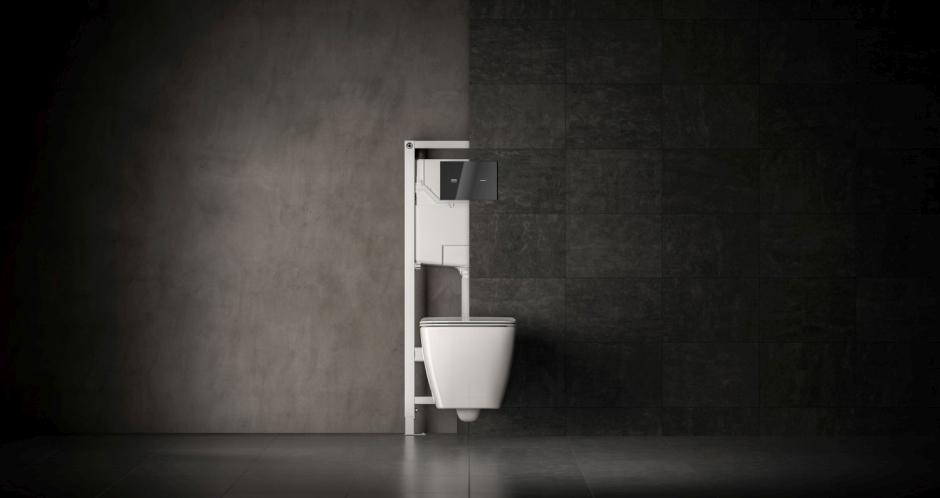 Stelaże podtynkowe to elegancka zabudowa łazienki
